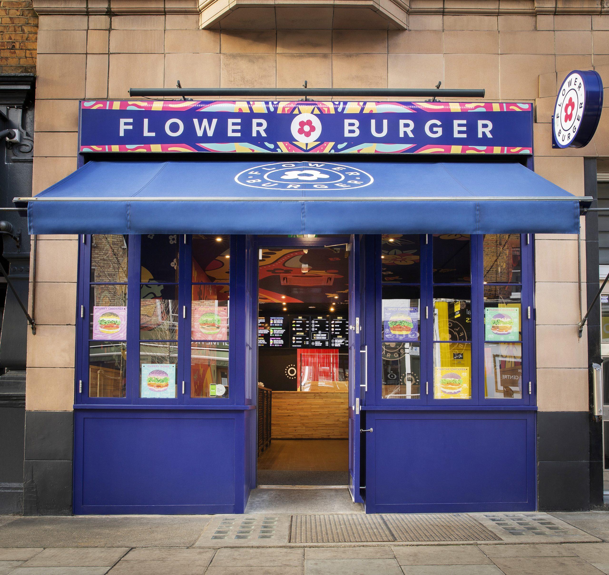 Shop Awning for Flower Burger